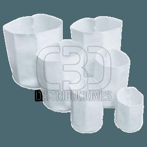 Root Tex Redonda Blanca